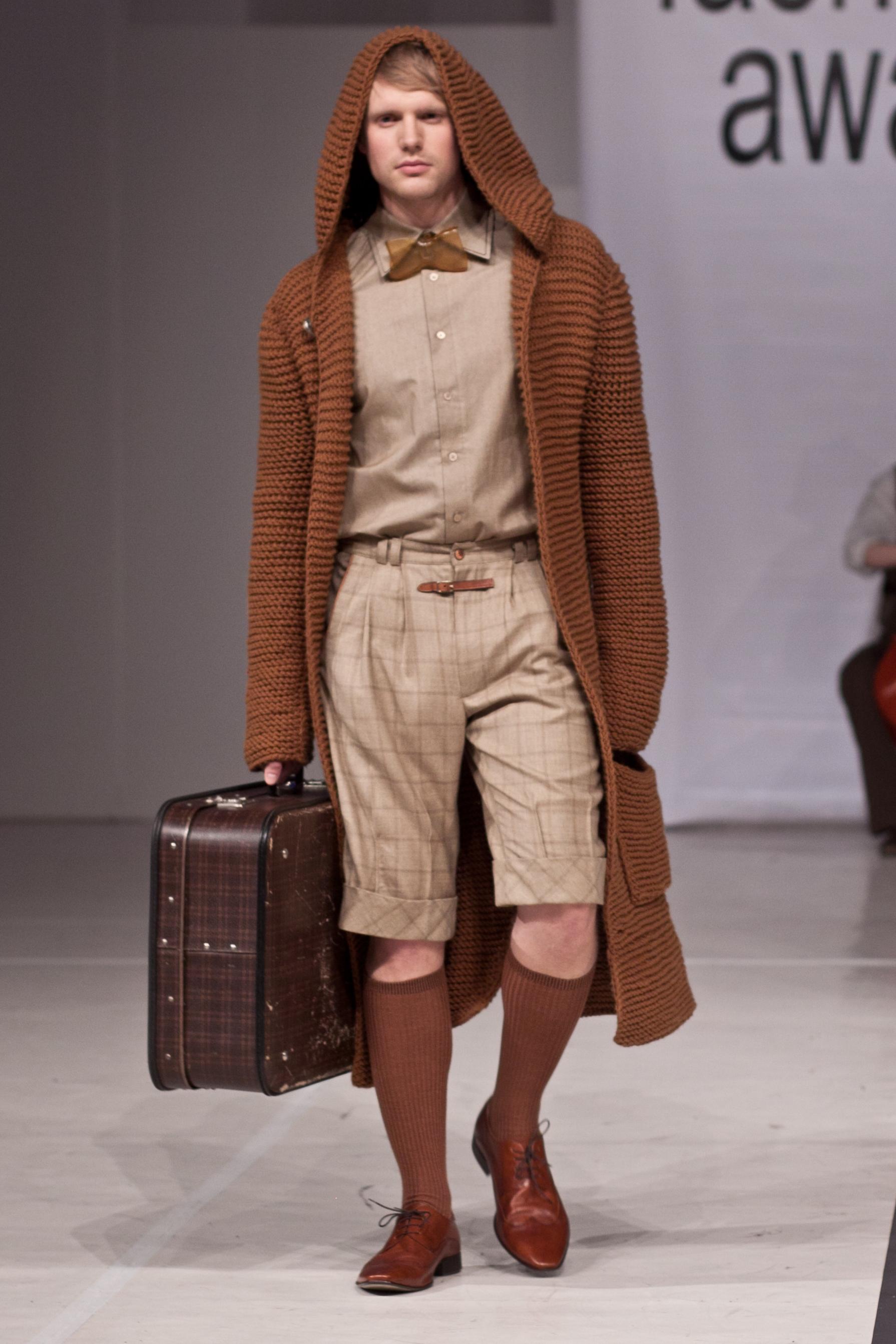 Łukasz Stachowicz LAMPERIA kolekcja roku Cracow Fashion Awards 2011