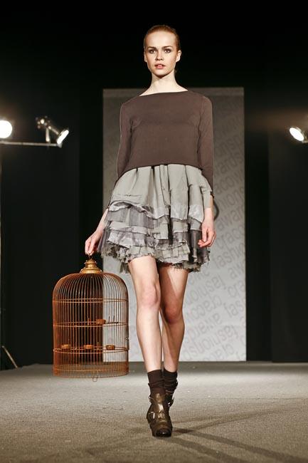 Aneta Zielińska ECHO Kolekcja Roku Cracow Fashion Awards 2010