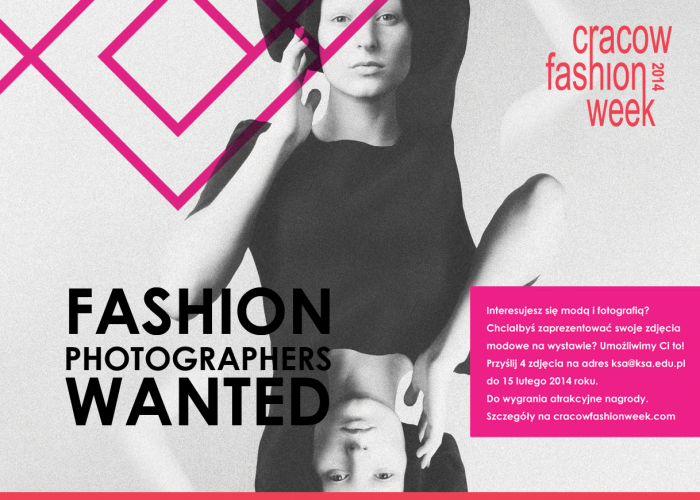 Fashion Photographers Wanted – zgłoszenia