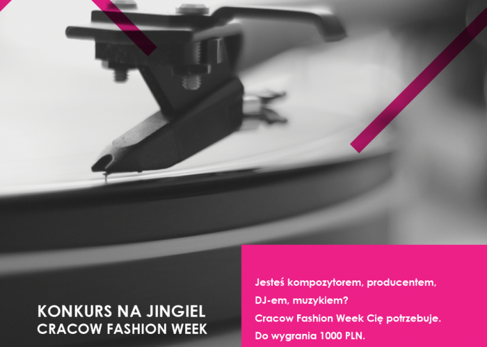 HEY NOW! Konkurs na jingiel Cracow Fashion Week