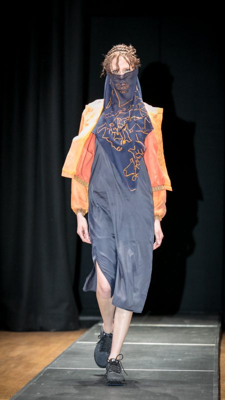 "Kolekcja "".hollow"" Oli Bajer na Gali Cracow Fashion Awards"